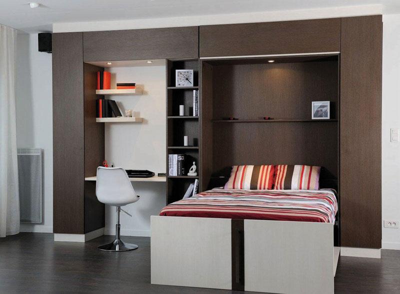 lit escamotable 2. Black Bedroom Furniture Sets. Home Design Ideas